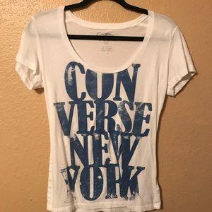 Women's med converse t shirt